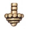 Bead Cap Beaded Antique Gold